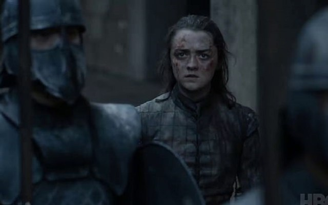 Petición masiva para rehacer la última temporada de Game of Thrones - Arya Stark en el capítulo final de Game of Thrones. Captura de pantalla / HBO
