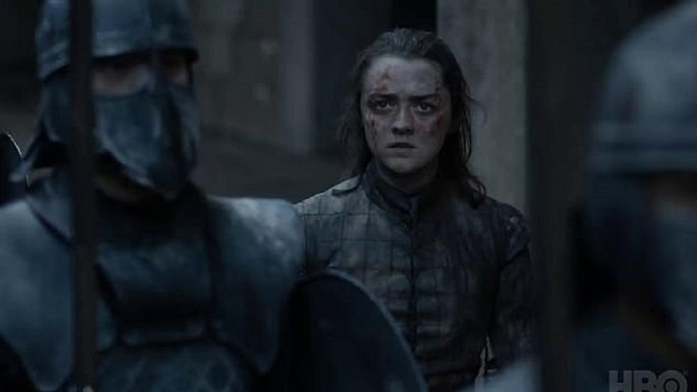 Arya Stark en el capítulo final de Game of Thrones. Captura de pantalla / HBO