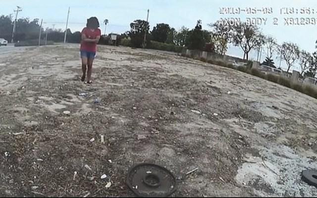 #Video Policía dispara contra adolescente que lo amenazaba con un cuchillo - ataque joven