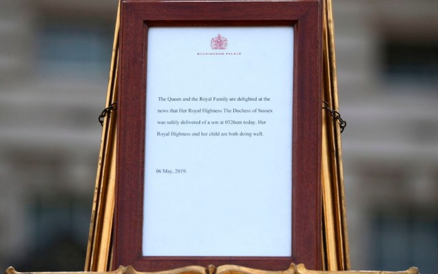 Bebé del príncipe Harry y Meghan rendirá cuentas al fisco de EE.UU. - bebé príncipe Harry y Meghan Markle