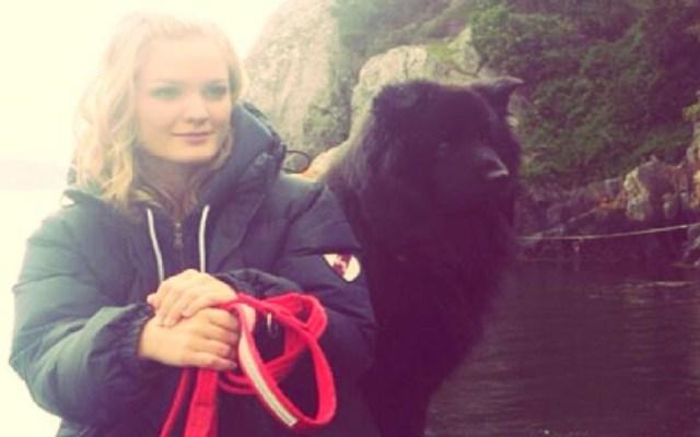 Mujer muere de rabia por mordedura del perro que rescató - Birgitte Kallestad con su perro en 2013. Foto de @birgitte.kallestad.9