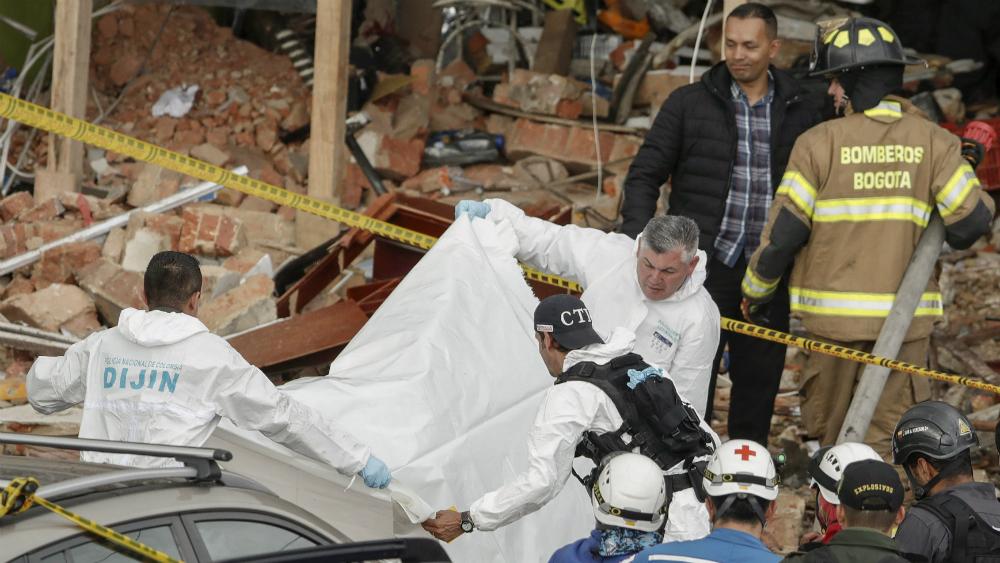 Cuatro muertos y 30 heridos por explosión en fábrica en Bogotá - Foto de AFP