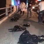 Abandonan bolsas con restos humanos en Tuxtepec - bolsas restos humanos tuxtepec oaxaca
