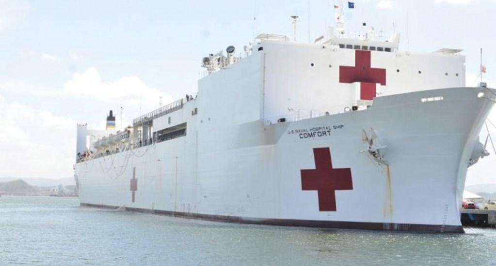 Buque hospital de EE.UU. visitará 11 países para mitigar crisis venezolana. Noticias en tiempo real