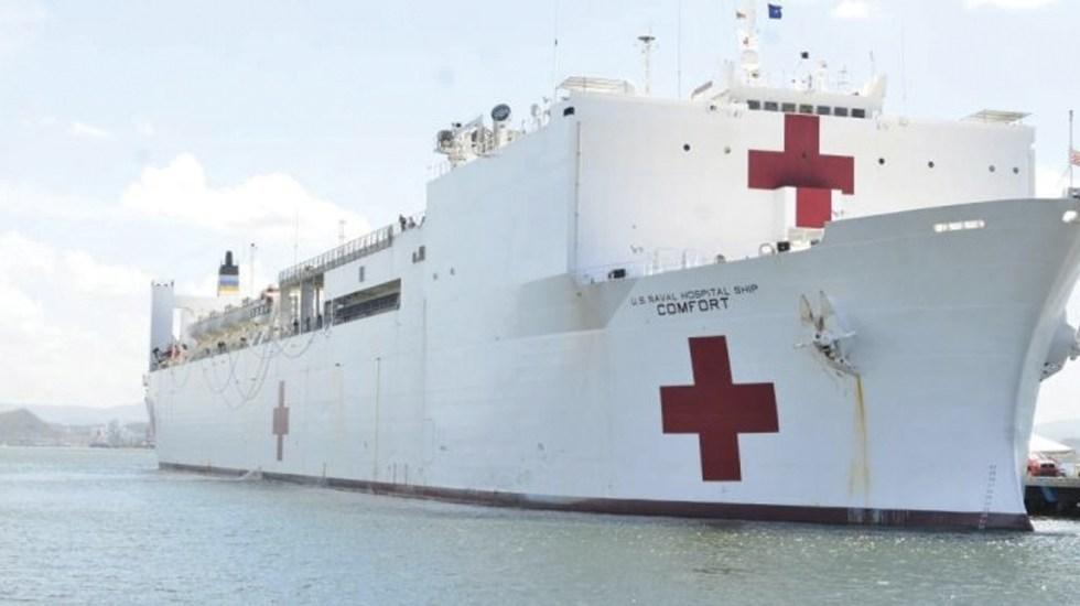 Buque hospital de EE.UU. visitará 11 países para mitigar crisis venezolana - Foto de Papagayo News