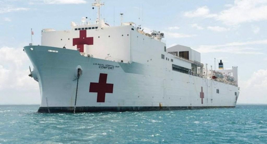 EE.UU. enviará buque con ayuda humanitaria a Venezuela - buque comonfort