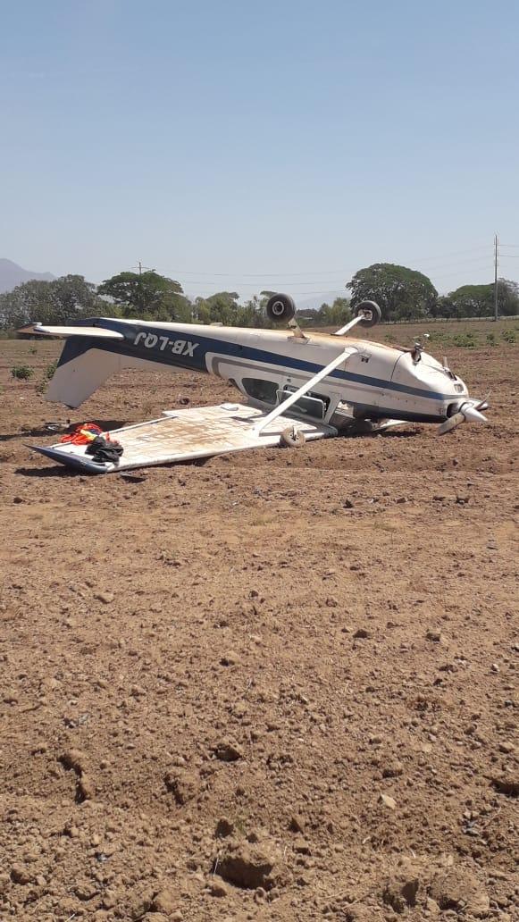 caida avión tomatlán jalisco
