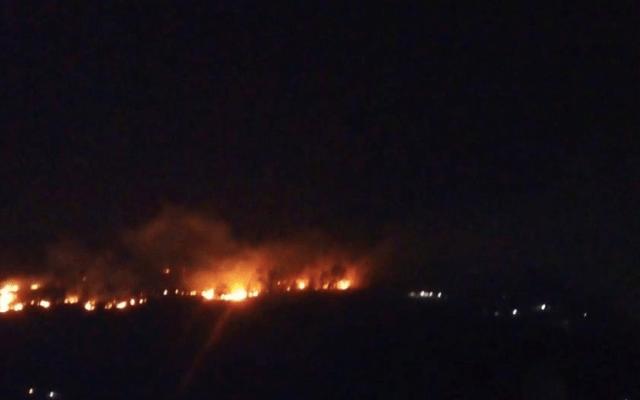 Suman 20 incendios en CDMX entre viernes y sábado - Foto de @SEDEMA_CDMX