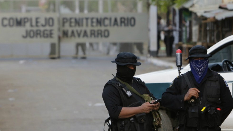 Al menos 17 opositores heridos en un motín en cárcel de Nicaragua - Foto de AFP