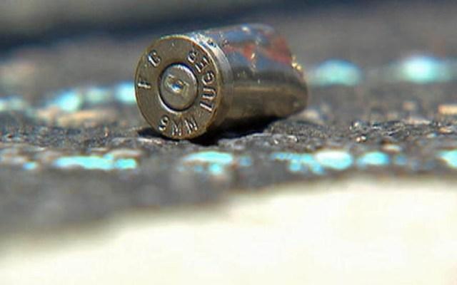 Niña recibe disparo durante riña en Venustiano Carranza - Casquillo de bala. Foto de Archivo / Telemundo