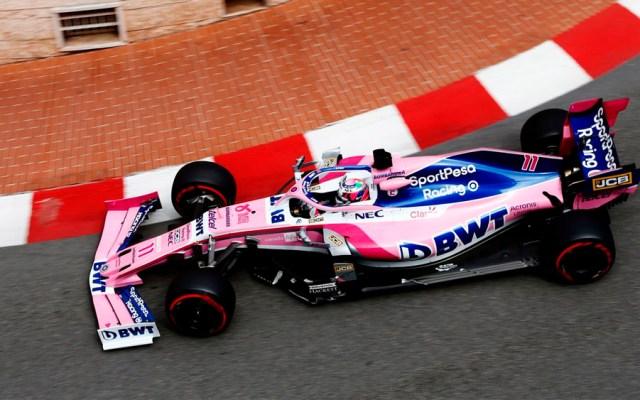 Checo Pérez sin gran mejoría en tercera práctica de GP de Mónaco - checo pérez monaco