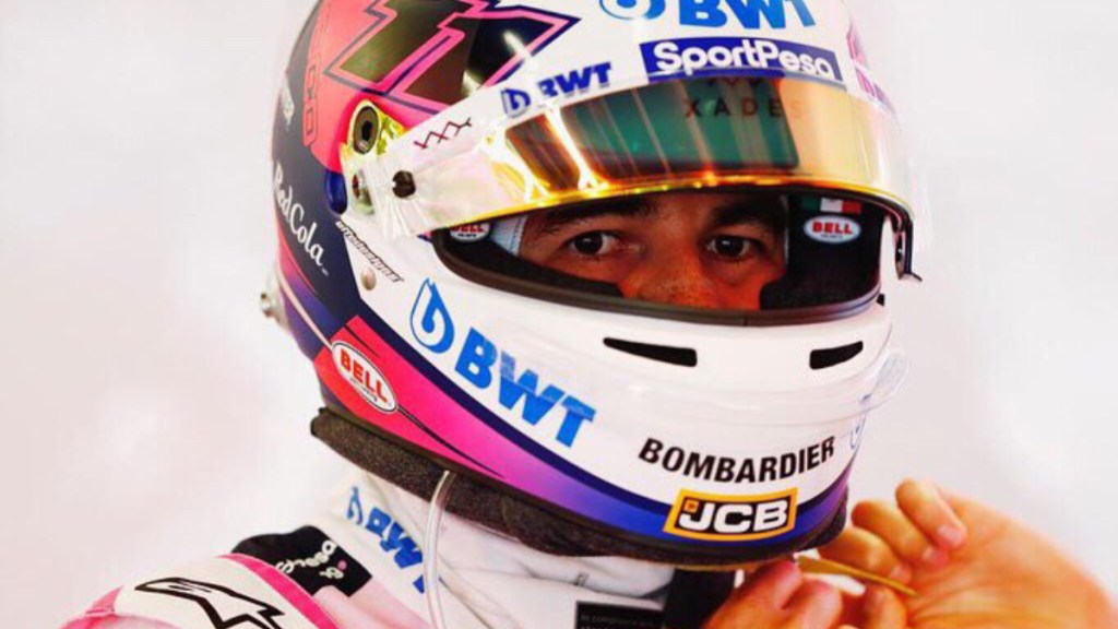 Mal resultado de Checo Pérez en prácticas del Gran Premio de España - Sergio Checo Pérez pruebas Gran Premio de España