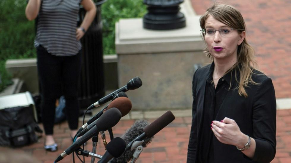 Detienen nuevamente a Chelsea Manning - Foto de AFP