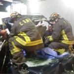 Choque en Constituyentes deja al menos dos muertos - choque camión automóvil muertos constituyentes