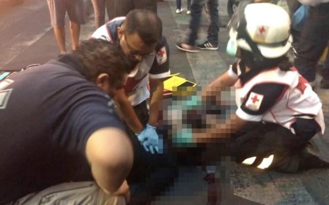 Tráiler de Cervecería Modelo mata a ciclista en la alcaldía Miguel Hidalgo - Foto de @JerrxG13