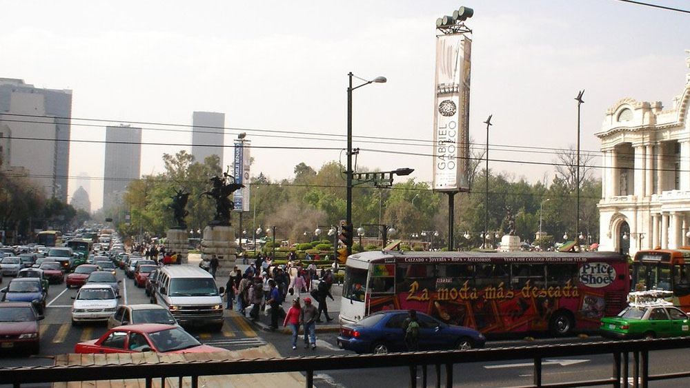 Alertan por manifestantes en Eje Central y Madero - manifestantes eje central madero