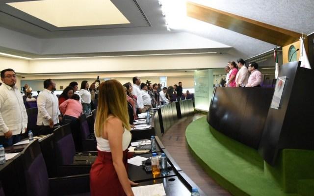 Congreso de Campeche da el 'sí' a la Reforma Educativa - Quinta sesión ordinaria del Congreso de Campeche. Foto de @Congresocam