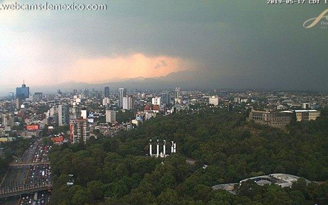 Continúa la contingencia ambiental extraordinaria en el Valle de México - Foto de webcamsdemexico.com
