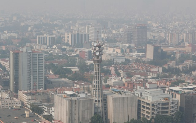 Mantienen Contingencia Ambiental Atmosférica Extraordinaria en el Valle de México - Foto de Notimex