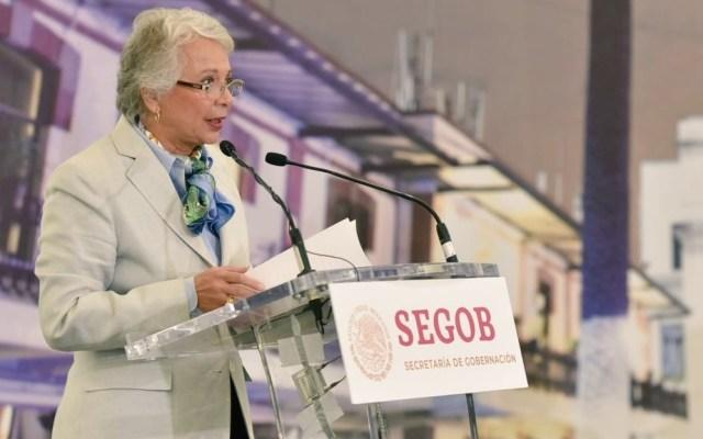 Sánchez Cordero afirma que el caso Lozoya no es venganza política - Secretaria de Gobernación, Olga Sánchez Cordero. Foto de @M_OlgaSCordero