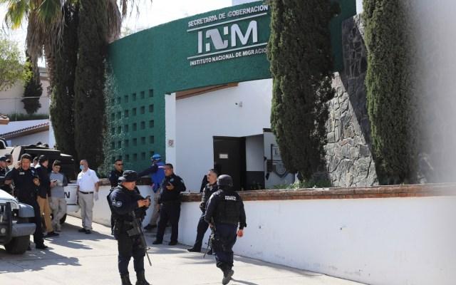 Agentes del INM tenían tratos con delincuentes: Sánchez Cordero - despido agentes INM tratantes de personas