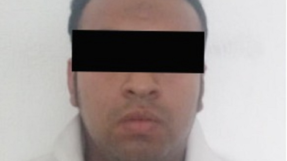 Detenido por su presunta relación en el intento de plagio de mujer. Foto de @DSCyVEcatepec