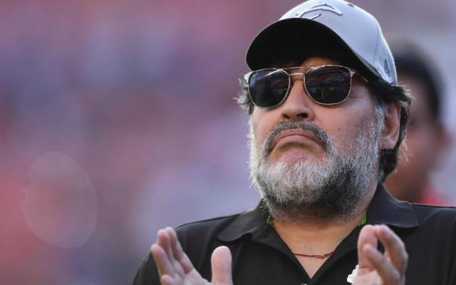 Maradona pone condiciones para permanecer en Dorados - Foto de Mexsport