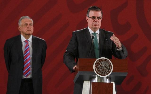 Alemania respalda Plan de Desarrollo para Centroamérica - Canciller en conferencia de AMLO. Foto de Notimex