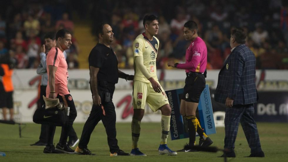 Edson Álvarez se perderá la ida de cuartos de final ante Cruz Azul - Foto de Mexsport