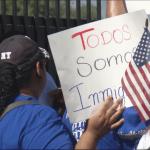 Marchan contra política migratoria de Trump en El Paso, Texas - Foto de kfoxtv.com/