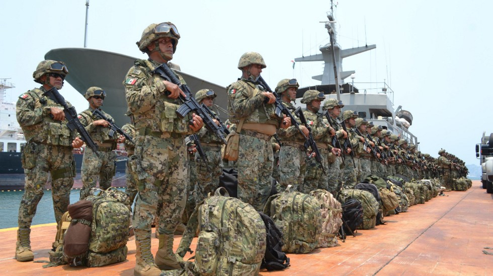 Marina no permitirá ingreso de grupos armados a Acapulco: comandante - Marina refuerza seguridad Acapulco