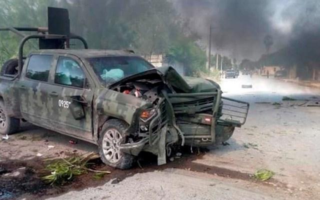Enfrentamiento entre militares y delincuentes en Tamaulipas - enfrentamiento militares y delincuentes tamaulipas