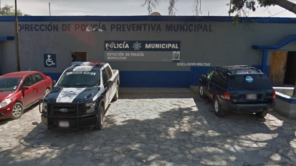 Detienen a tres por ataque a fiscalía de Coahuila y policía de Monclova - Estación de Policía Municipal de Monclova. Foto de Google Maps