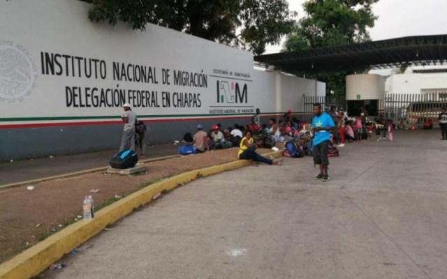 Reporta INM fuga de 25 personas de estación migratoria en Tapachula - INM Tapachula