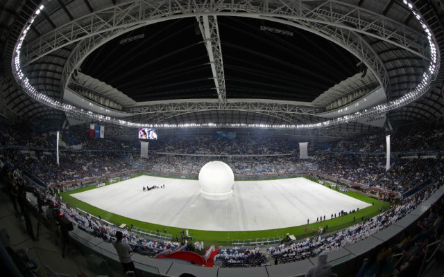 Inauguran Estadio de Al Wakrah, una de las sedes del Mundial 2022 - Foto de AFP