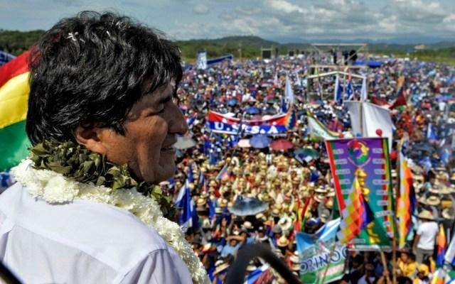 Evo Morales arranca campaña electoral para un cuarto mandato - evo morales bolivia