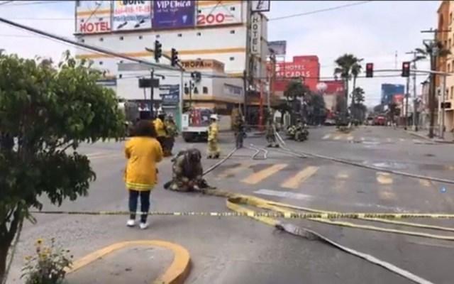 Explosión en hotel de Tijuana deja al menos seis heridos - explosión hotel tijuana heridos