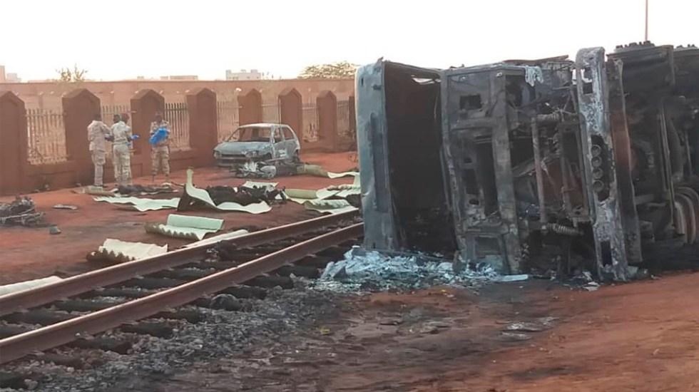 Explosión de camión cisterna en Níger deja al menos 58 muertos - explosion níger