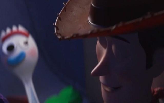 """#Video Disney presenta nuevo adelanto de """"Toy Story 4"""" - Forky y Woody. Captura de pantalla"""