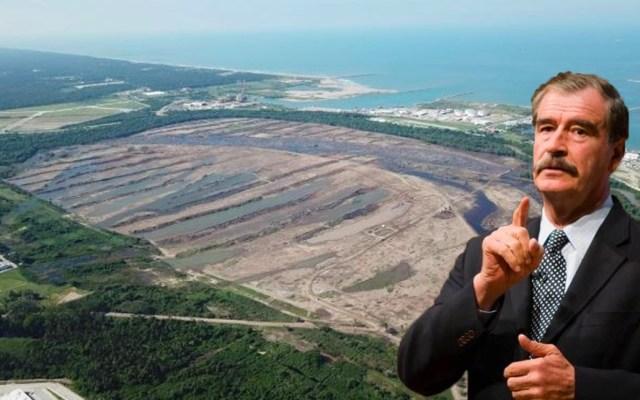 Fox critica a AMLO por poner 'en manos de incapacitados' la Refinería Dos Bocas - refinería de dos bocas inundación