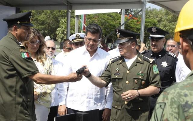 Gobernador de Tamaulipas pide a EE.UU. acciones para evitar tráfico de armas en la frontera - Foto de Twitter Francisco Javier García Cabeza de Vaca
