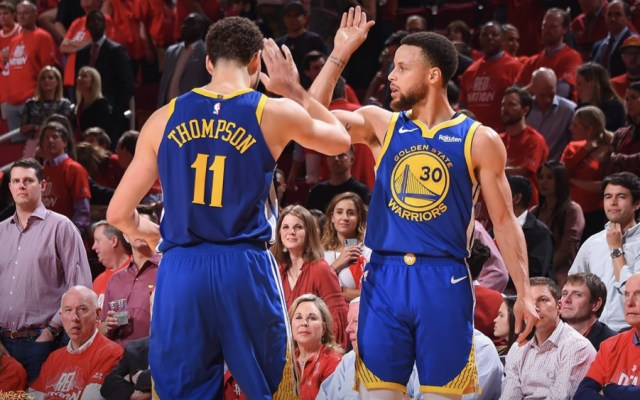 Warriors avanzan a la final del Oeste de la mano de Curry y Thompson - Foto de @warriors
