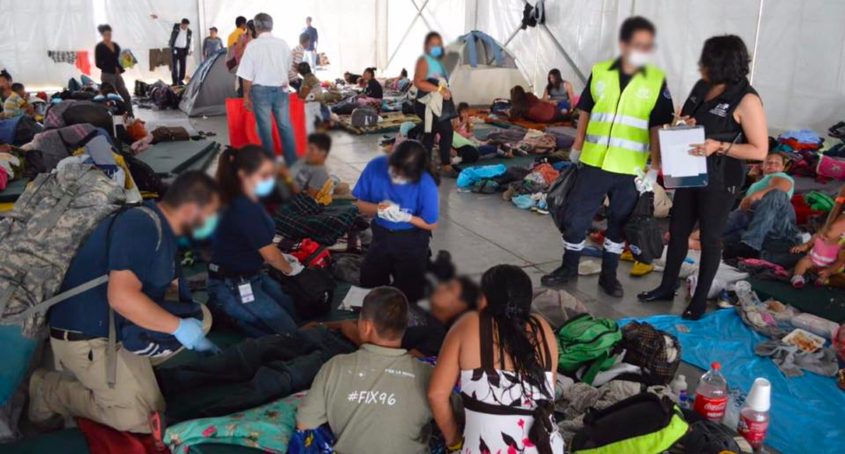 Muere niña guatemalteca en CdMx — Caravana migrante
