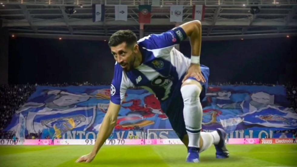 #Video Héctor Herrera se despide del Porto - Héctor Herrera despedida Porto
