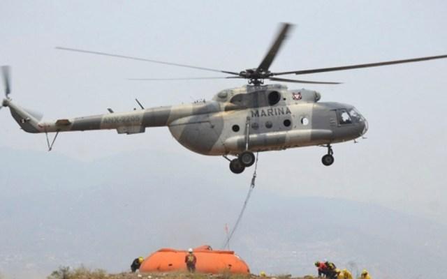 SSPC envía condolencias a familia de muertos en caída de helicóptero - helicóptero marina