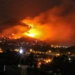 #Video Controlan incendio en el cerro de Jicalán en Uruapan - Incendio en cerro del Jicalán. Foto de @UltimaHoraUpn