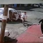 Detienen a sujeto que pudo participar en intento de plagio en Ecatepec - Intento de secuestro de mujer en Ecatepec. Captura de pantalla