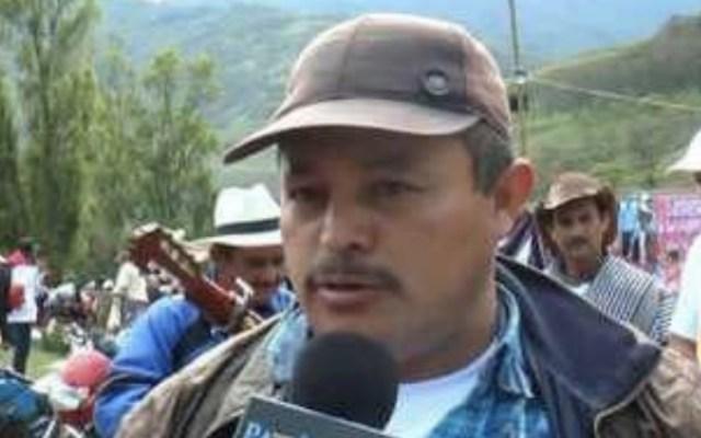 Matan a excomandante de las FARC acogido al proceso de paz en Colombia - Foto de @PCatatumbo_FARC