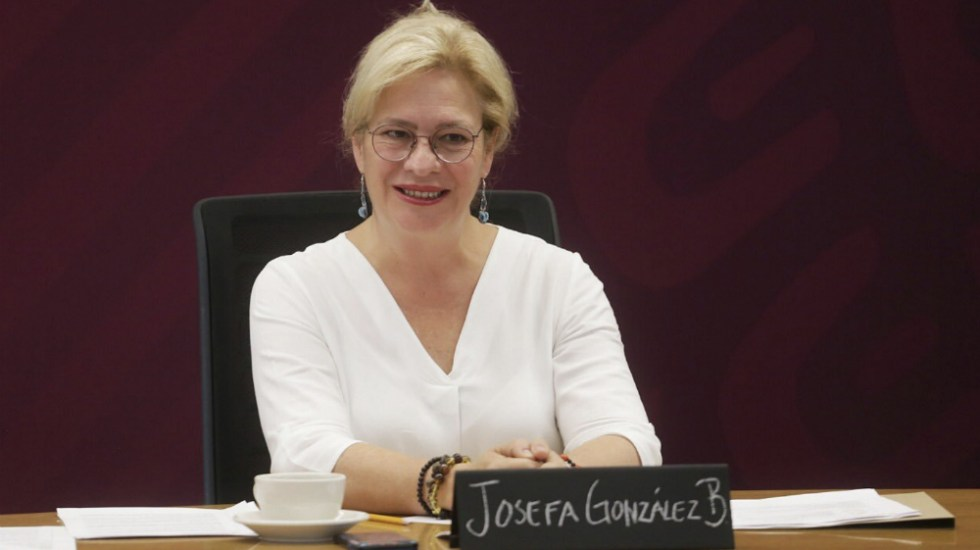 ¿Quién es Josefa González Blanco, extitular de Semarnat? - Foto de @Josefa_GBOM