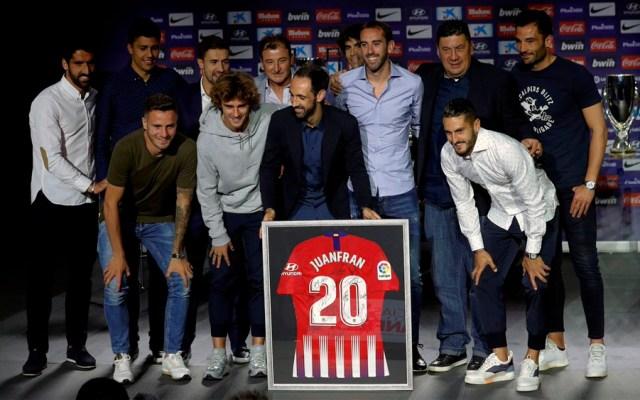Juanfran se despide del Atlético de Madrid - Juanfran atlético